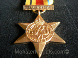 FULL SIZE WW2 AFRICA STAR WITH 1st ARMY CLASP REPLACEMENT COPY